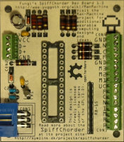 Designs for a SpiffChorder printed circuit board...